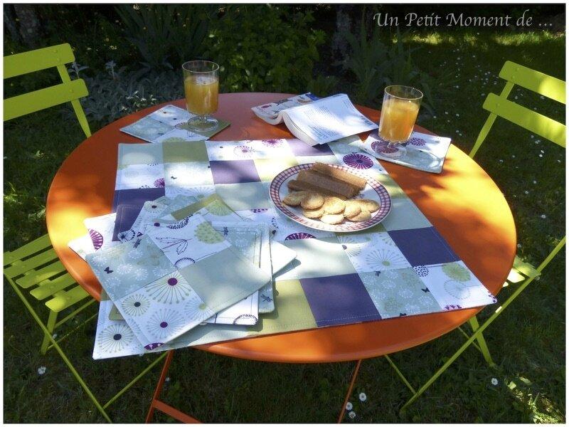 Set de table carré 2