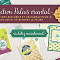 Collection palais oriental stampin'up