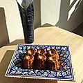 Cannelés olives et bacon