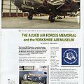 Memorial des forces aeriennes allies d'elvington