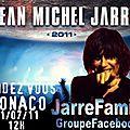 MONACO : LE <b>CONCERT</b> EVENEMENTIEL du 01/07/2011