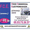 Jammes f.c.e. - froid - commercial - electroménager