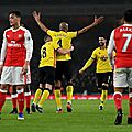 Résumé arsenal vs watford video buts 0-2 | mi-temps