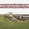 1190 Jugement devant la cour d'Aliénor d'Aquitaine et le sénéchal d'Anjou entre l'abbaye de Fontevraud et le prévôt de Saumur