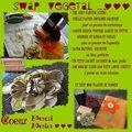 Swap vegetal - mon colis envoyé