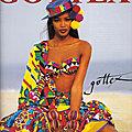 1992, <b>Naomi</b> <b>Campbell</b> pour GOTTEX (2)