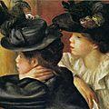Au théâtre, la loge_Auguste Renoir 1894