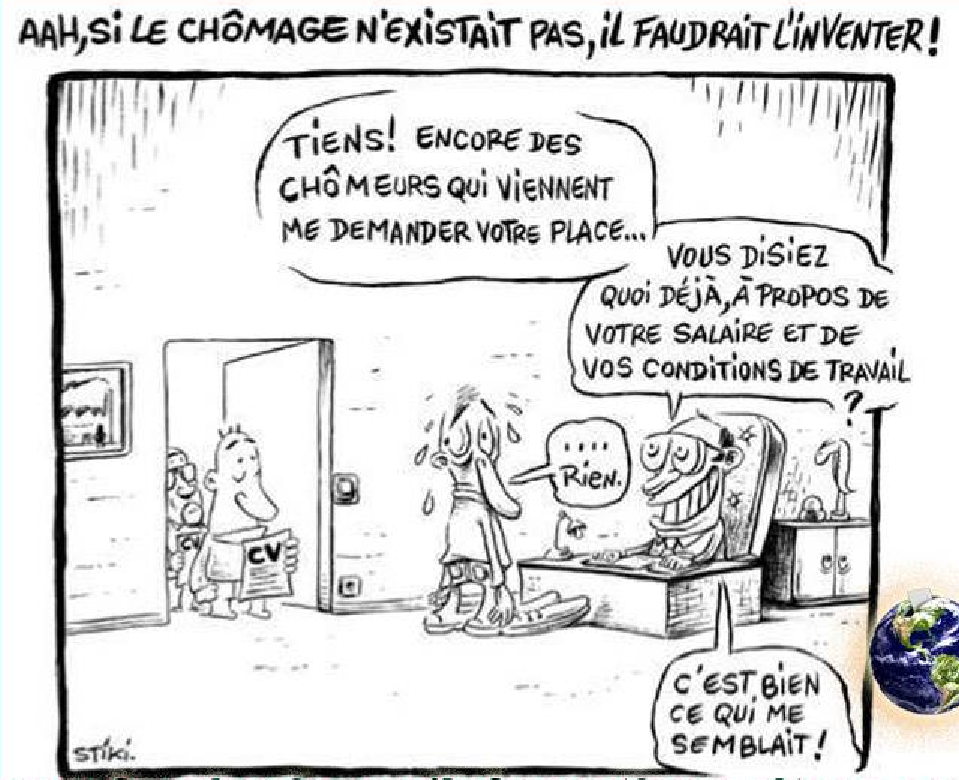 humour chomage medef ps ump