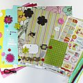 <b>Kit</b> <b>Atelier</b> Multi*Albums d'août, 2ème version
