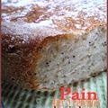 Pains aux 5 céréales et pavot (levain kayser)