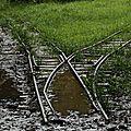 Bagne des Annamites - restes de la voie ferrée