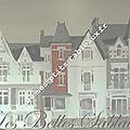 Les belles maisons sablaises sur le remblai des Sables