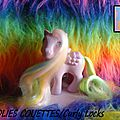 (013) G1 Mèches magiques/Brush'n Grow ponies.