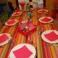 Petite table de bienvenue!