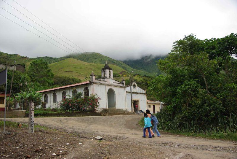 Le village de Guallupe