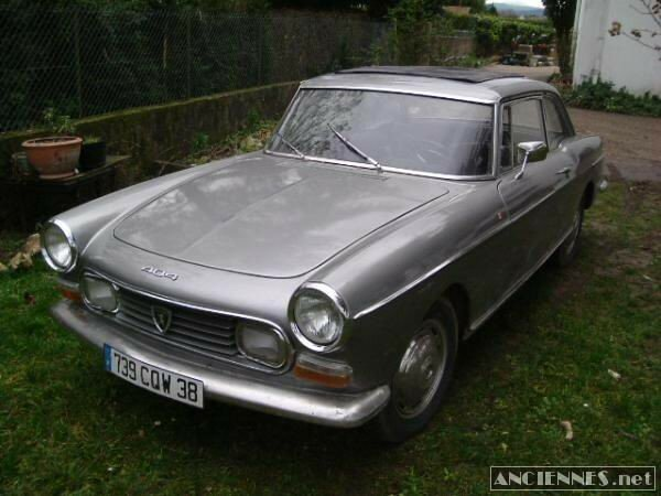 PEUGEOT 404 coupe injection - 1967