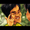 Making of bruce lee !