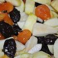 Fruits cuits comme un baeckof : un dessert léger et parfumé