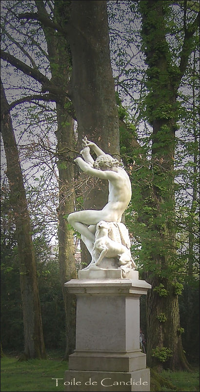 statue chasse