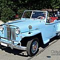 Willys-overland jeepster phaeton 1948-1950