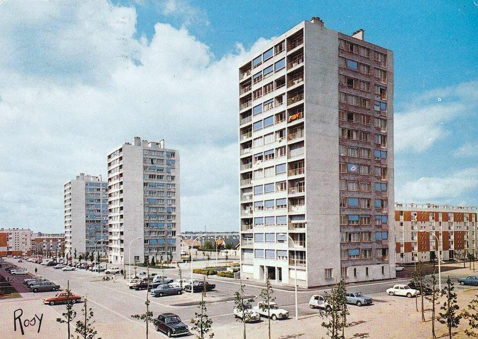 Nantes, quartier du Breil-Malville