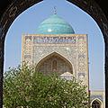 Ouzbékistan v : à travers le souk