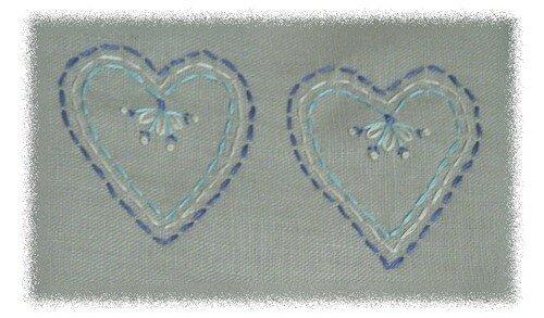 coeurs bleus