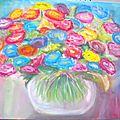 Bouquet de fleurs imaginaires