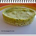 Timbale de courgette au parmesan ww