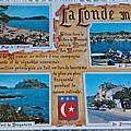 La Londe les Maures datée 1973