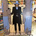 <b>Blueberry</b>, plaque plexiglass signée par Gir, Ziggourat, la Bande des Six nez 70€