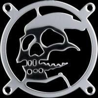 Sharkoon Skull Laser Cut Fan Grill