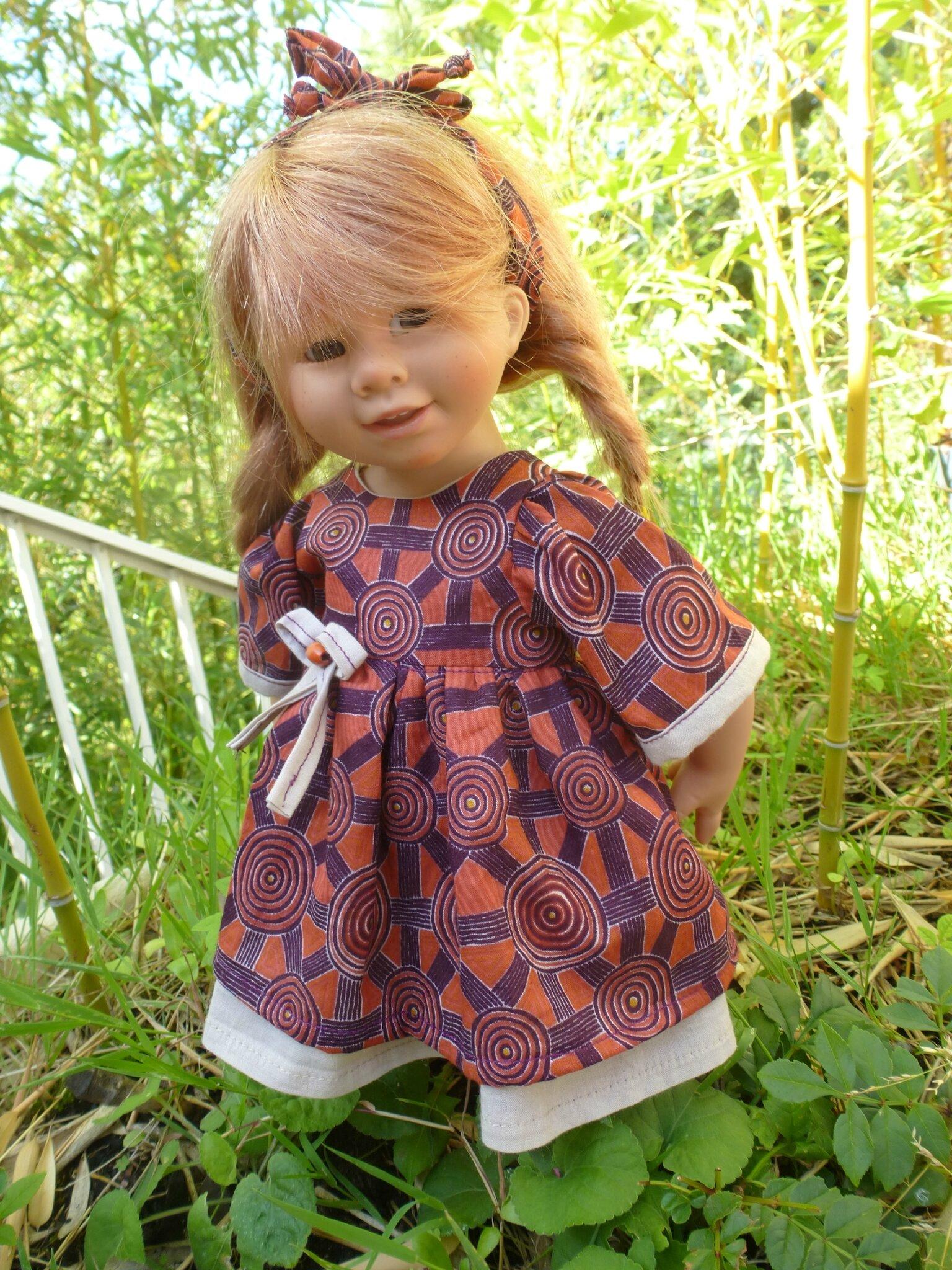 Petite robe d'automne pour Wichtel et petite Zwergnase, 15 € et 2,40 plus disponible