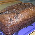 Gâteau au yaourt et au chocolat...