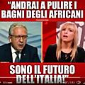 """Un député italien se lâche : """"Le futur de l'Italie c'est l'Afrique, et tu iras laver les chiottes des Africains car ils seront p"""