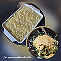<b>Lasagnes</b> aux épinards