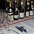 Vins rouges de Bourgogne : Fixin; Gevrey <b>Chambertin</b>, Latricières-<b>Chambertin</b>, Clos de Vougeot, Grands-Echézeaux (3)