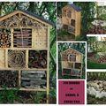 nichoirs et abris à insectes