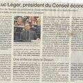 DU LOURD: Jean-Luc LEGER, nouveau président du <b>CESER</b> NORMANDIE!