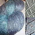 Rambouillet en soie Dye for Yarn