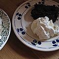 Brownies aux noix de macadamia.