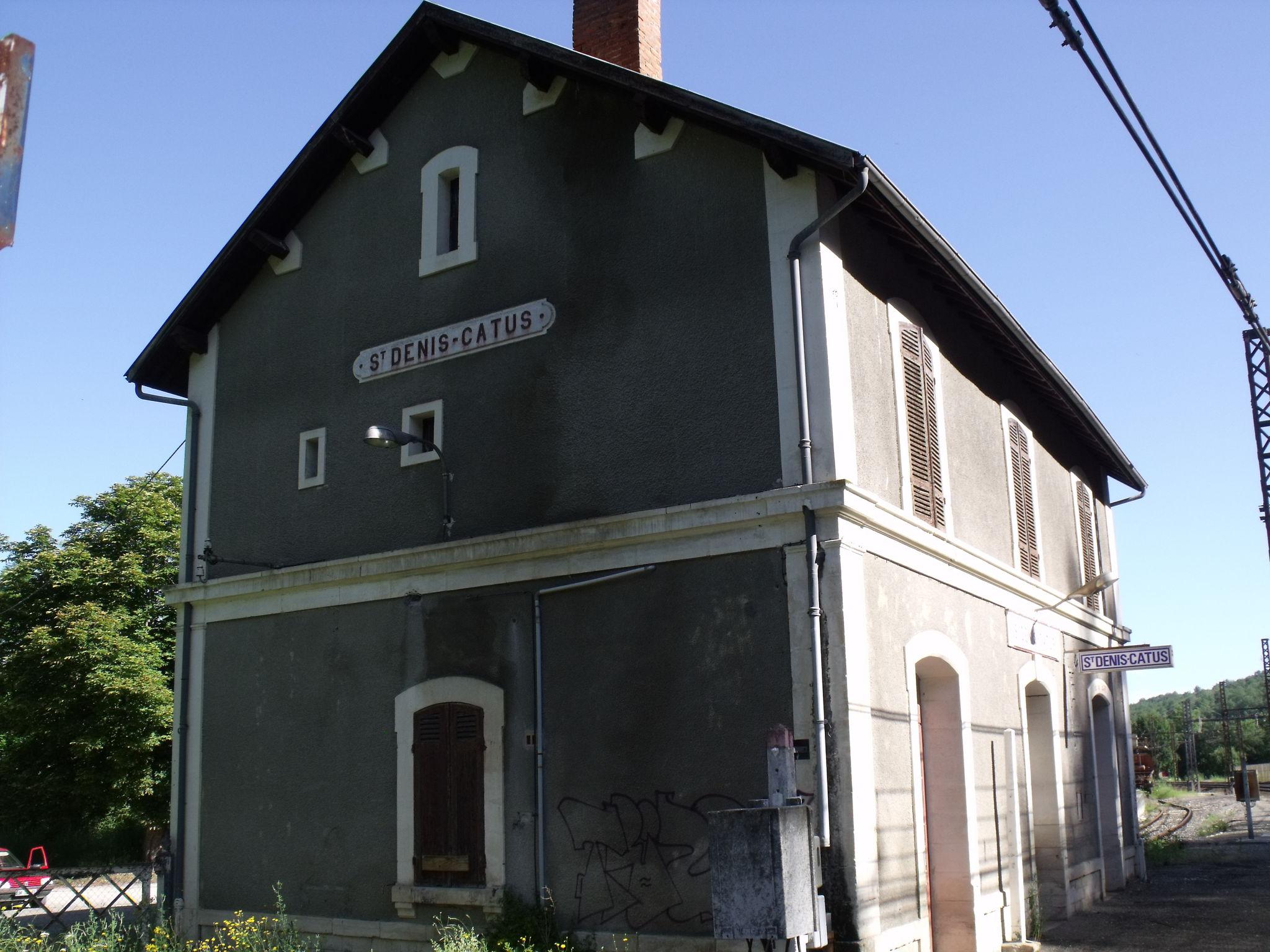 Saint-Denis-Catus (Lot - 46) quai