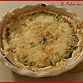 Tarte poireaux/mozzarella