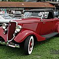 <b>Ford</b> model 40A DeLuxe roadster-1934