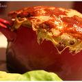 Cassolette de poulet à la mimolette