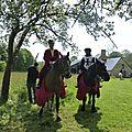 balade à cheval médiévale - Abbaye de Hambye (224)