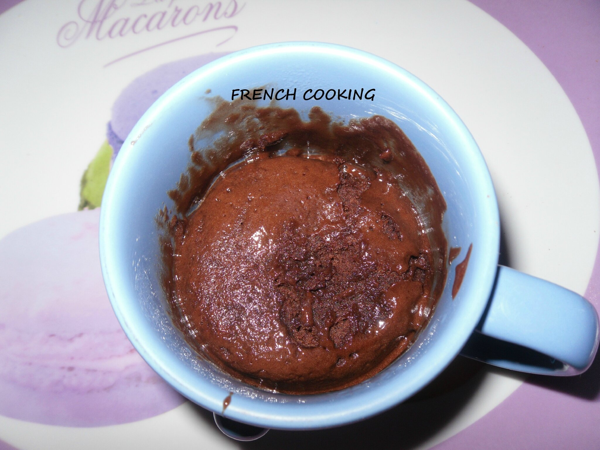 Mug brownie Nutella de French cooking