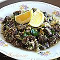 Plats algériens - authentique maadnoussia bônoise