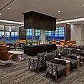 Le plus grand <b>Delta</b> Sky Club ouvre à Salt Lake City avec une vue imprenable sur les montagnes