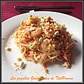 Pad thaï aux crevettes à ma façon